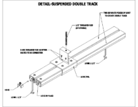Suspended Double Track
